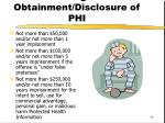 criminal penalties for wrongful obtainment disclosure of phi
