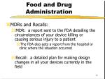 food and drug administration4