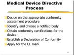 medical device directive process1