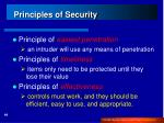 principles of security