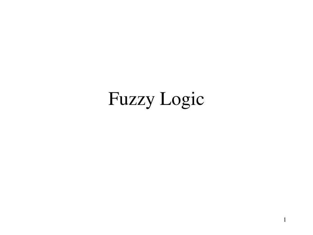 fuzzy logic l.