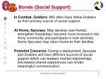 bonds social support