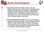 bonds social support7