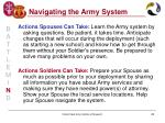 navigating the army system23