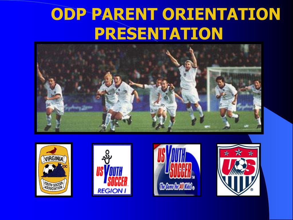 odp parent orientation presentation l.