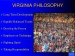 virginia philosophy