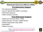 retirement services officers rso