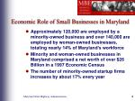 economic role of small businesses in maryland4