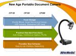 new age portable document camera