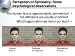 perception of symmetry some psychological observations34
