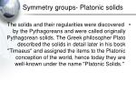 symmetry groups platonic solids20