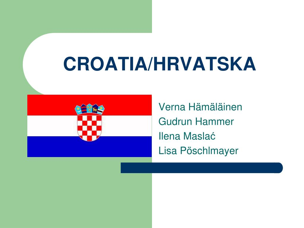 croatia hrvatska l.