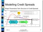 modelling credit spreads22