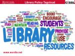 library policy tagcloud