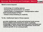 my concerns and challenges web 2 0