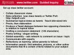 www twitter com guided inquiry