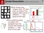 double dissociation goodale et al 1994 curr biol 4 604 610