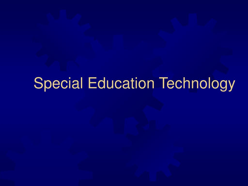 special education technology l.