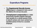 expenditure programs30