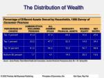 the distribution of wealth19