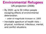 environmental refugees un projection 2006