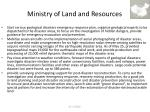 ministry of land and resources