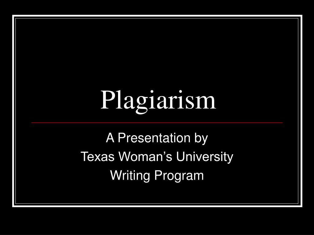 plagiarism l.