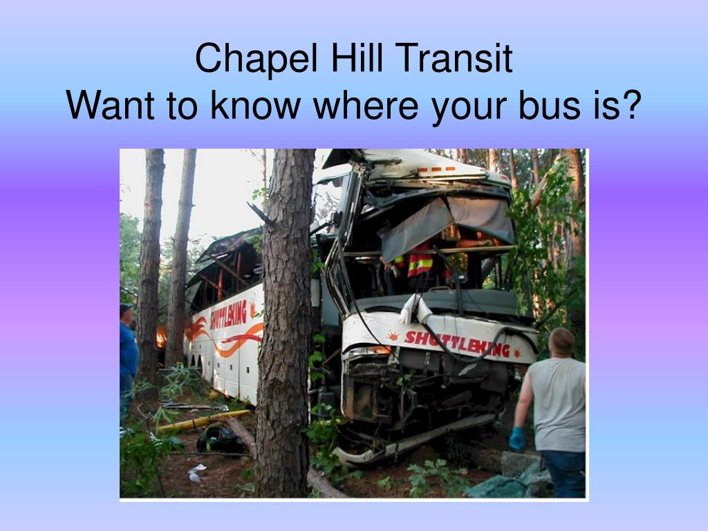 chapel hill transit want to know where your bus is l.