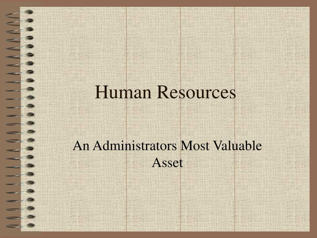 human resources l.