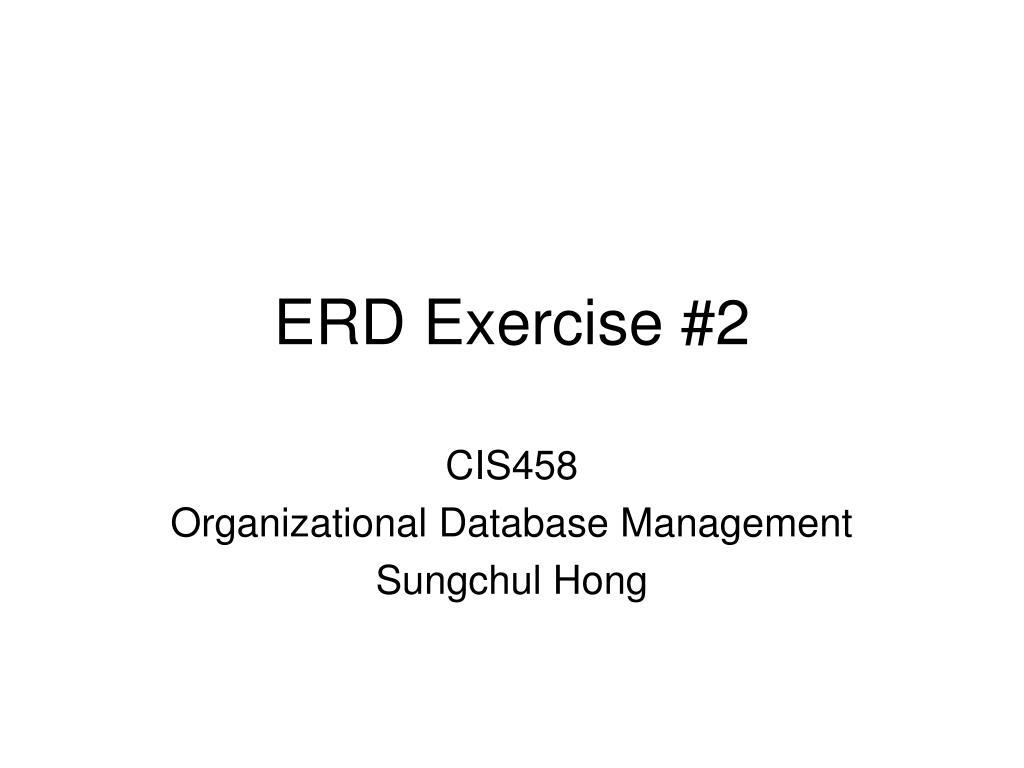 erd exercise 2 l.