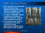 emi external wiring