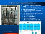 virgo suspension control unit