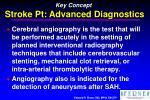 key concept stroke pt advanced diagnostics31
