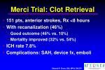 merci trial clot retrieval
