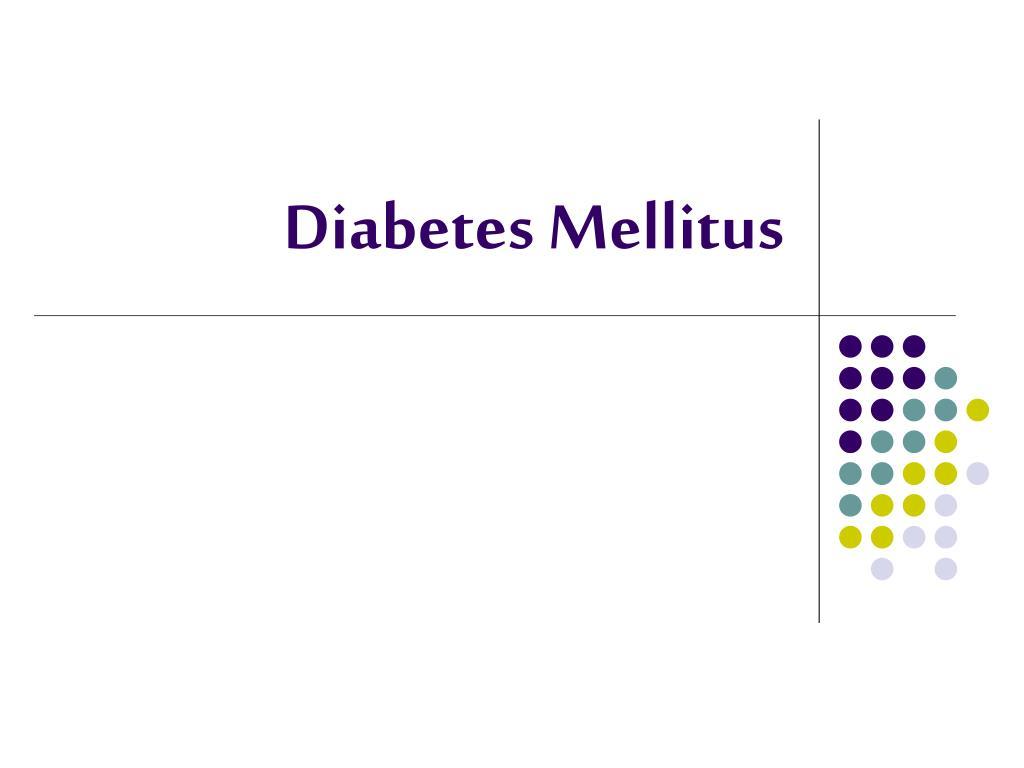 diabetes mellitus l.