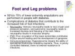 foot and leg problems77