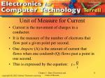 unit of measure for current