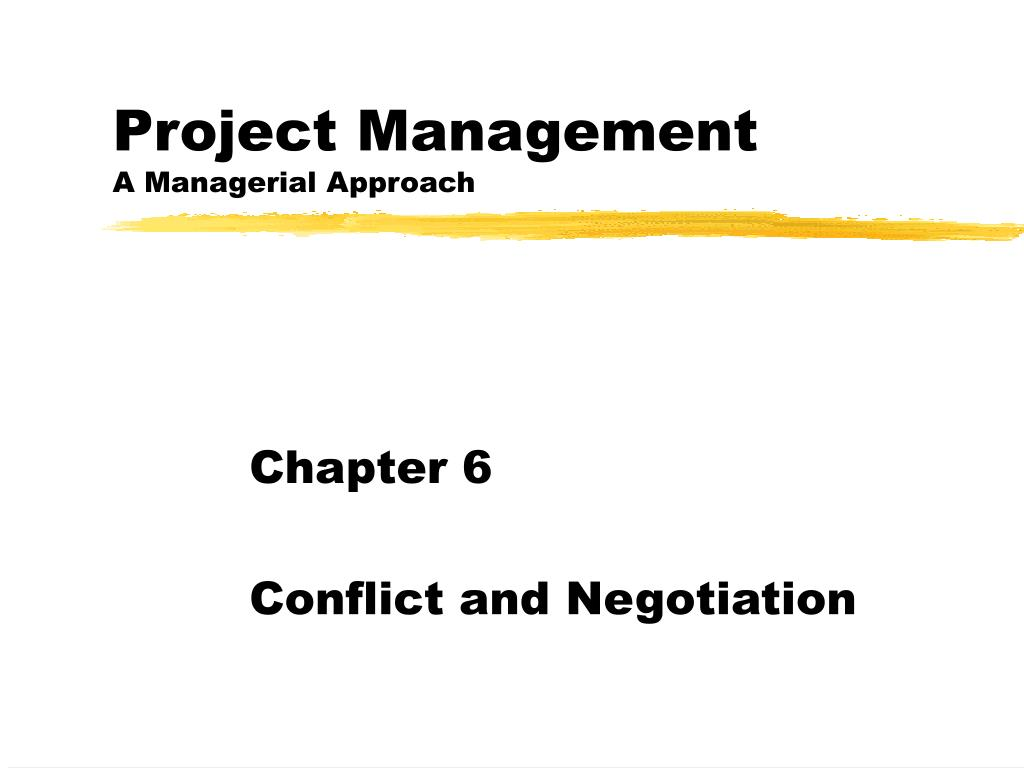 project management a managerial approach l.