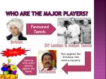 who are the major players