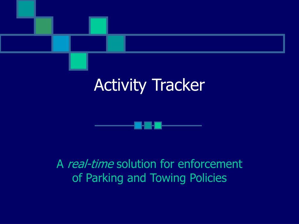activity tracker l.