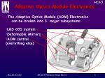 adaptive optics module electronics
