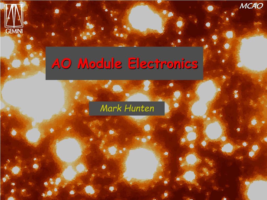 ao module electronics l.