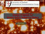design proposal for gemini south adaptive optics