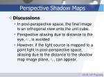 perspective shadow maps26