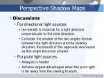 perspective shadow maps28