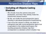 perspective shadow maps31