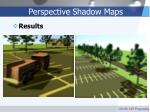 perspective shadow maps35