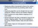 summarizations