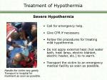 treatment of hypothermia2
