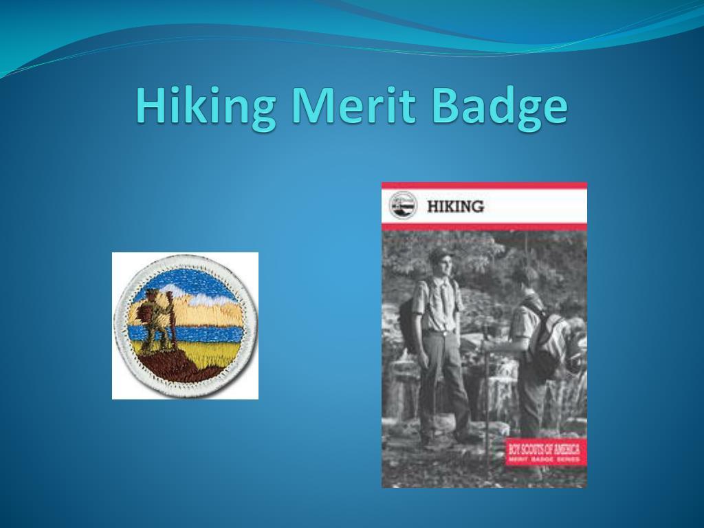 hiking merit badge l.